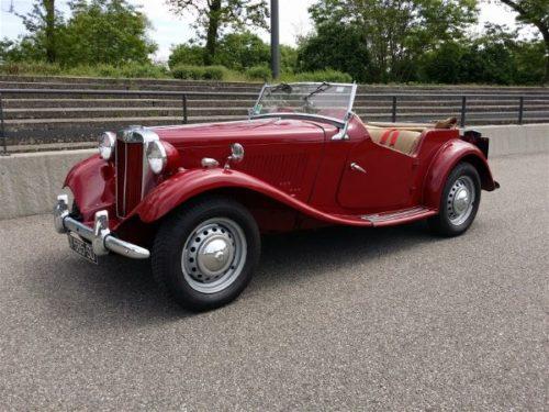 Idée Cadeau My Classic Automobile Mulhouse MG TD