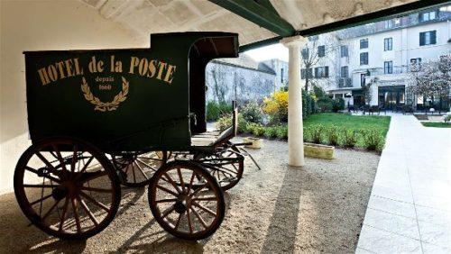 Najeti Hotel de la poste à Beaune