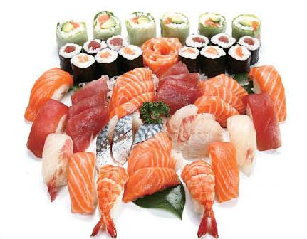 Idée Cadeau Restaurant Sushi Line Mulhouse : plateau 3