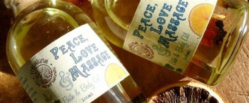 Idée Cadeau Massage à domicile Montpellier : huile 4