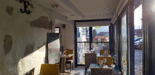 Idée Cadeau Restaurant l'Osmose du lac Annecy Menthon Saint Bernard : salle 2
