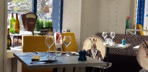 Idée Cadeau Restaurant l'Osmose du lac Annecy Menthon Saint Bernard : salle 3