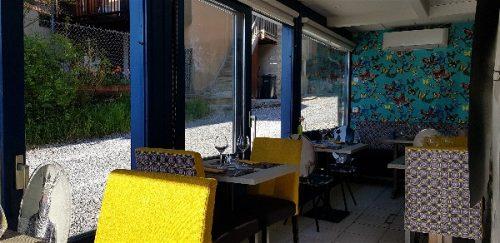 Idée Cadeau Restaurant l'Osmose du lac Annecy Menthon Saint Bernard : salle