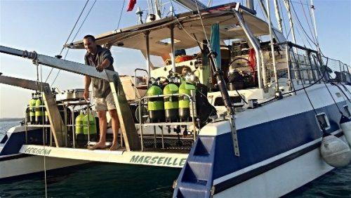 Idée Cadeau Atao Plongée Martinique : catamaran balade