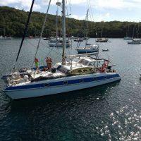 Idée Cadeau Atao Plongée Martinique : catamaran nuit à bord 2