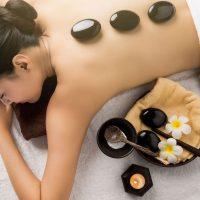 Idée Cadeau l'Escale bien-être Ajaccio : massage pierres chaudes