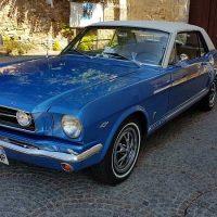 Idée Cadeau Mustang 66 Gretz-Armainvilliers : vue droite