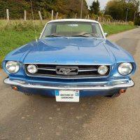 Idée Cadeau Mustang 66 Gretz-Armainvilliers : vue face