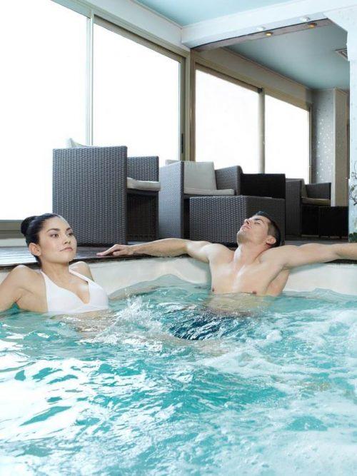 Idée Cadeau Thalassoleil à Villeneuve-Loubet : bain duo