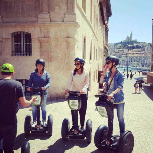 Idée Cadeau Cyclopub Aix-en-Provence - Balade en Segway à Marseille