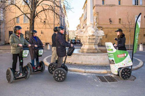 Idée Cadeau Cyclopub Aix-en-Provence - Visite