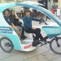 Idée Cadeau Cyclopub Aix-en-Provence - balade en pousse pousse