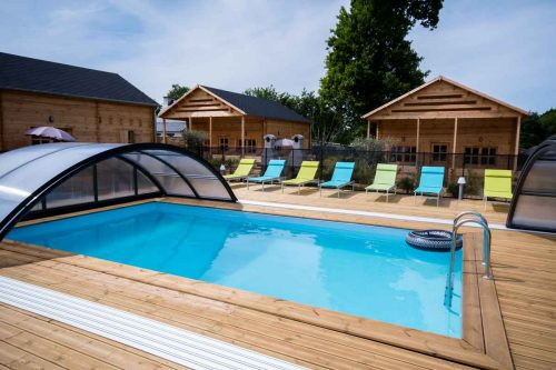 Idée Cadeau Gites d'Armor à Tréguidel - la piscine 2