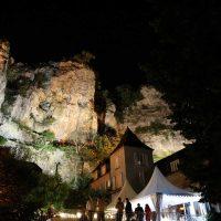 Idée Cadeau Hôtel Domaine les Falaises Martel Vue de nuit