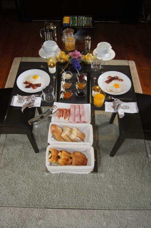 Idée Cadeau Keryanti domaine de Lesleac'h à Plouégat-Moysan - petit déjeuner