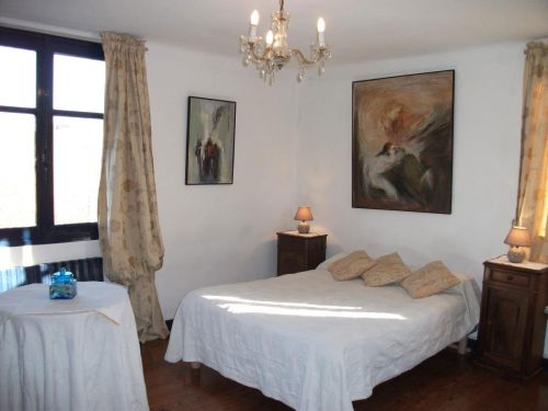 Idée Cadeau Maison Sarrot à Bidache : chambre
