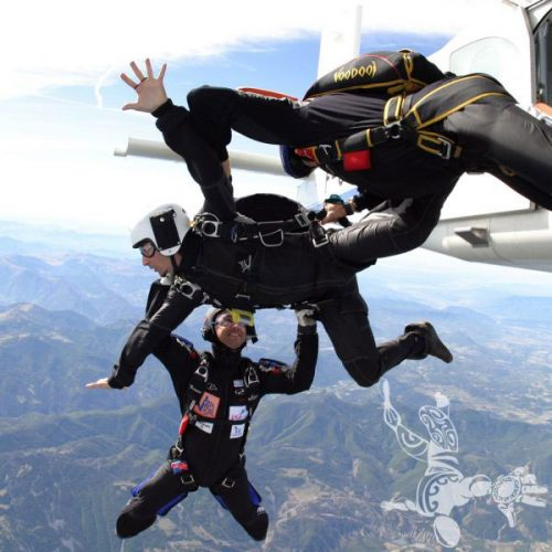 Idée Cadeau Skydive Center Gap Tallard - sortie avion-Initiation