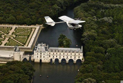 Idée Cadeau Val Tour Air à Francueil - walaby en vol 2017