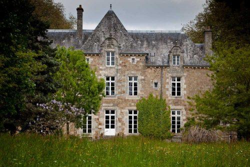 idée cadeau Chateau du Quengo Irodouër - château vue avant