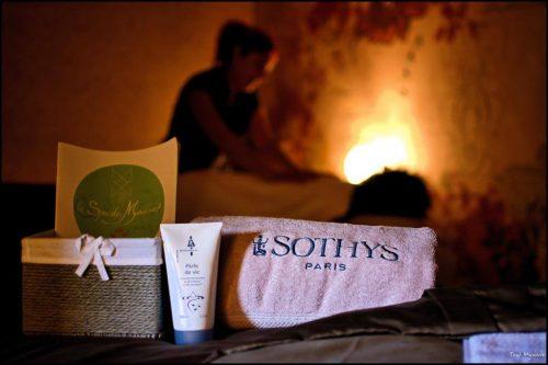 Idée Cadeau hôtel spa Moulin de Moissac proche Montauban : massage