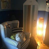 Idée Cadeau la Maison de Josepha Ferrals-les-Corbières chambre marine : fauteuil