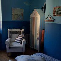 Idée Cadeau la Maison de Josepha Ferrals-les-Corbières chambre marine : vue large