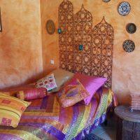 Idée Cadeau la Maison de Josepha Ferrals-les-Corbières chambre mauresque : lit