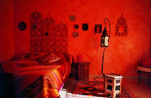 Idée Cadeau la Maison de Josepha Ferrals-les-Corbières chambre mauresque : vue oriental