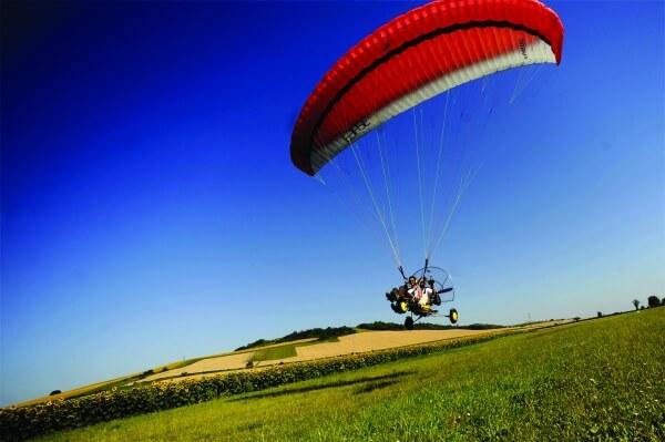 Idée Cadeau Paramoteur Poitou-Charente à Chaillevette : baptême de l'air seudre 20 mn de vol effectif