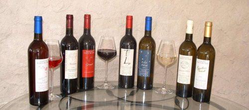 Idée Cadeau Domaine Vents du Sud Vingrau carte des vins domaine vents du sud