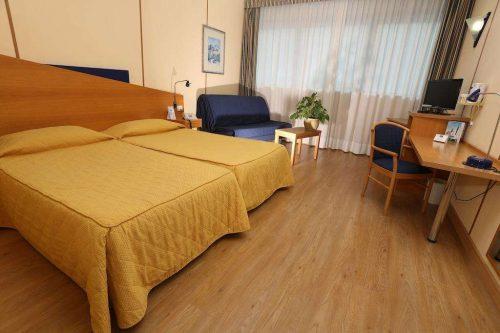 Idée Cadeau Express Hotel Aoste Italie Chambre famille