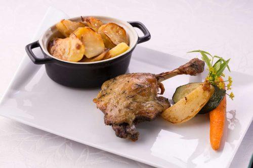 Idée Cadeau Hotel Restaurant Solenca Nogaro Magret de canard