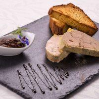 Idée Cadeau Hotel Restaurant Solenca Nogaro Plat de Foie gras