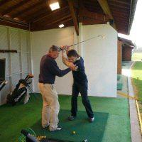 Idée Cadeau Michel Delbos PGA Lyon au practice