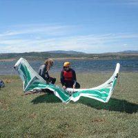 Idée Cadeau Skyfly Kiteschool Barcarès installation matériel kite surf