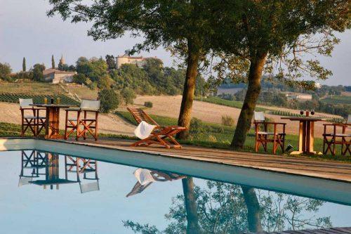 Idée Cadeau Château de Salettes Cahuzac-sur-Vère la piscine