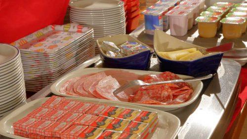 Idée Cadeau Hôtel de France et d'Europe Concarneau buffet petit-déjeuner