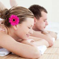 Idée Cadeau Oasis Bien-Être les Hespérides Conches-en-Ouche Massage en Duo