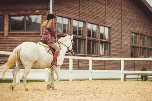 Idée Cadeau Les 3 Fers Saint-Raphael cheval et cavalière 2