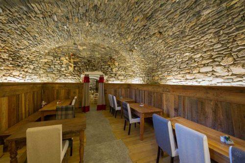 Idée Cadeau Les Plaisirs d'Antan Jovencan Aosta Italie - Le restaurant