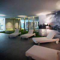 Idée Cadeau Les Plaisirs d'Antan Jovencan Aosta Italie - Salle de relaxation du Spa