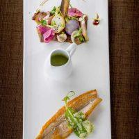 Idée Cadeau Auberge de la Tour Marcolès - Le Restaurant - plat