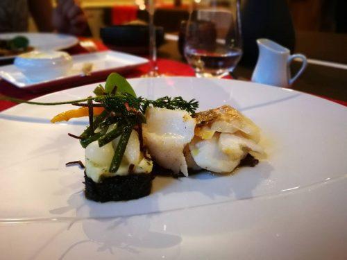 Idée Cadeau Auberge de la Tour Marcolès - Le Restaurant - poisson