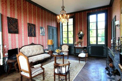 Idée Cadeau Chateau d'Island Avallon Vézelay - La Suite Cosme - salon