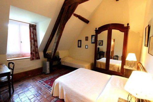 Idée Cadeau Chateau d'Island Avallon Vézelay - La chambre Agathe