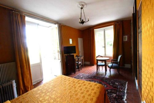 Idée Cadeau Chateau d'Island Avallon Vézelay - La chambre Jaune