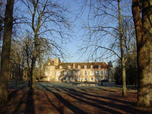 Idée Cadeau Chateau d'Island Avallon Vézelay - Le Parc en hiver