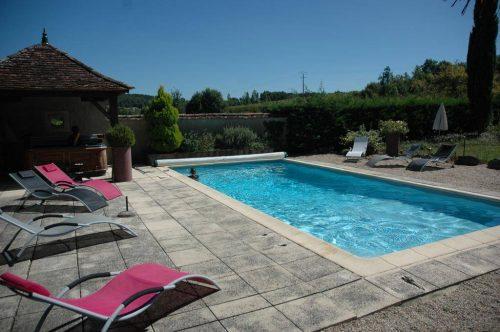 Idée Cadeau Domaine de la Queyssie Saussignac - la piscine