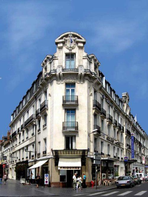 Idée Cadeau Grand Hôtel de Tours - Façade