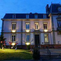 Idée Cadeau Hôtel Restaurant Le H Barr - vue de nuit